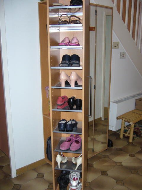 plusieurs fa ons de ranger les chaussures s 39 organiser c 39 est facile. Black Bedroom Furniture Sets. Home Design Ideas