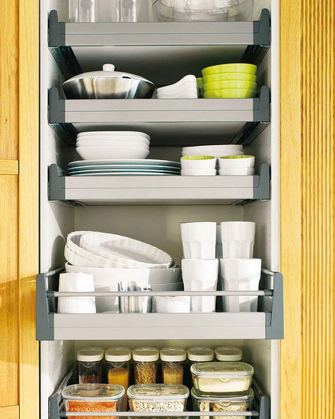Ranger Cuisine S 39 Organiser C 39 Est Facile Rangement Coulissant Cuisine  Ikea