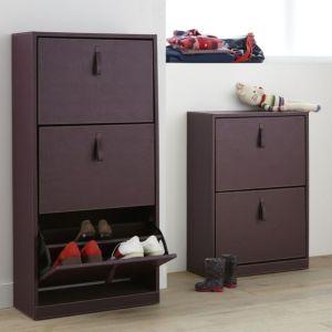 Les fbi du rangement le meuble chaussures basculant s 39 organiser c 39 est facile - Meuble a chaussure botte ...