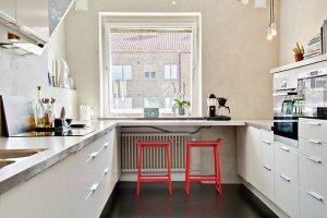 radiateur dans cuisine