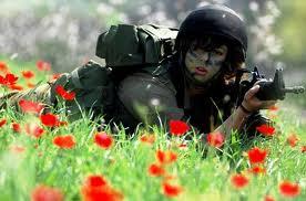 fleur au fusil