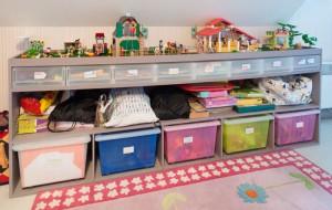 Les astuces de lecteurs le rangement des jouets dans une - Meuble pour ranger les jouets ...
