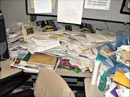 bureau paperasse