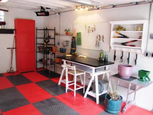 garage pour jardiner